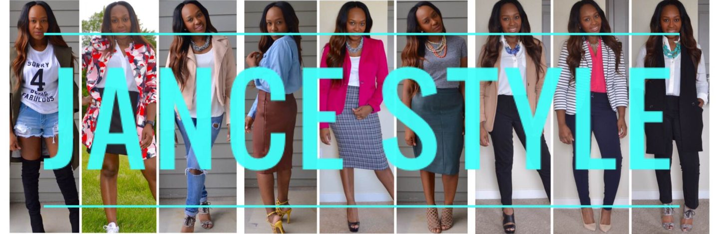 My Favorite Outfits from JanceStyle's First Year