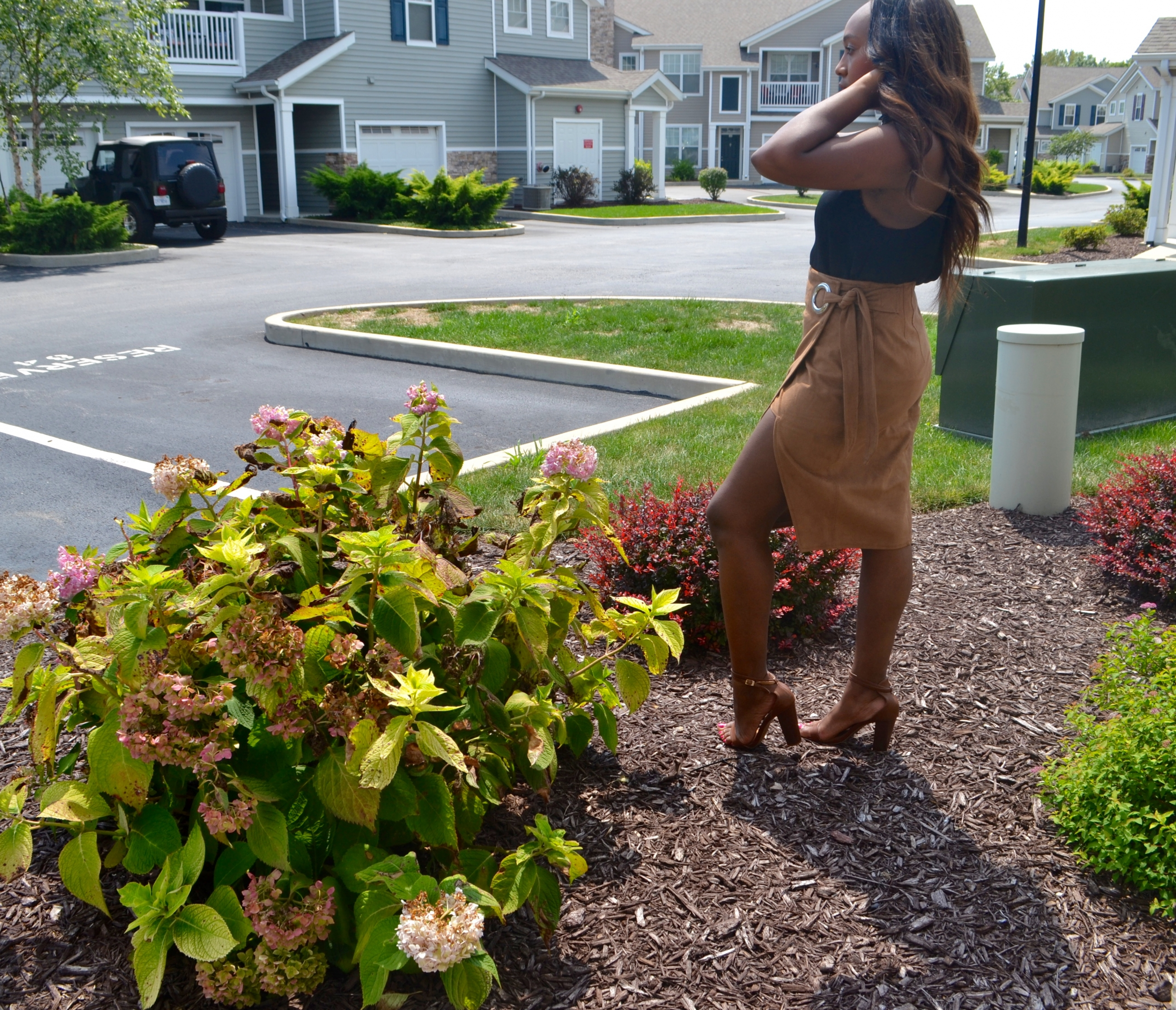 #WorkingWomanWednesday: Taking a STEP in Suede
