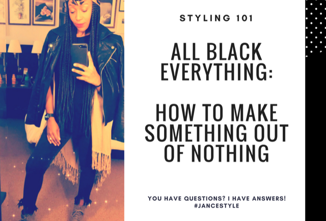 All Black Outfit: How to Make an Outfit Out of Jeans & T-shirt